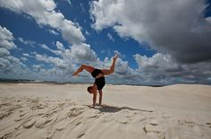 Lancelin Sand Dunes www.parkmyvan.com.au #ParkMyVan #Australia #Travel #RoadTrip #Backpacking #VanHire #CaravanHire