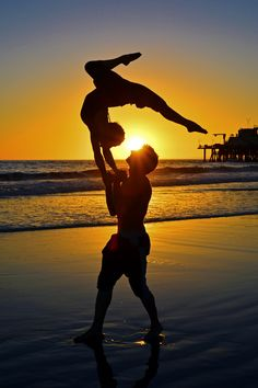 Acrobatics on the Beach in Santa Monica - September 22, 2013 by Rich Cruse on 500px
