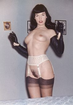 Wild Hardcore Bettie Page Nude Vintage Tumblr