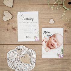 Elin | Einladung zur Taufe
