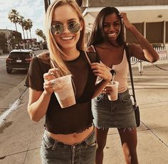 How often do you and your bff take pics together? Go Best Friend, Best Friend Goals, Best Friends Forever, Best Friend Pictures, Friend Photos, Fotos Goals, Mein Style, Best Bud, Gal Pal