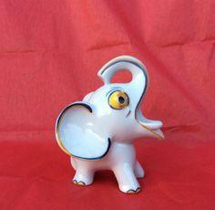 "RARE Grotesque Walter Bosse Metzler Ortloff Porcelain Elephant Mint 1630 4"" | eBay"