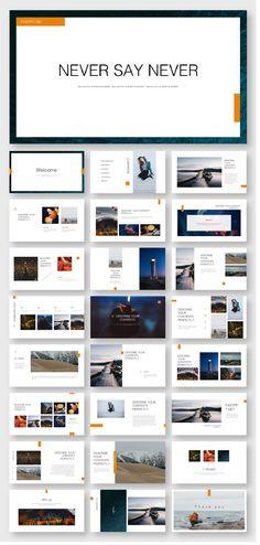DESIGN Layout & Type Orange Minimal Design Presentation Template – Original and high quality PowerPo Powerpoint Templates Download, Cool Powerpoint, Template Web, Powerpoint Presentation Templates, Report Template, Design Ppt, Page Layout Design, Slide Design, Web Layout