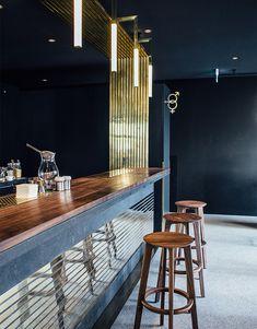 Модернистский бар в Мюнхене