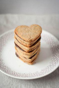 Sweetly beautiful Brown Sugar Sandwich Heart Cookies