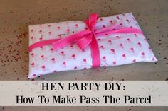 An oldie but a goodie, learn how we to make hen party Pass The Parcel. Read more now →