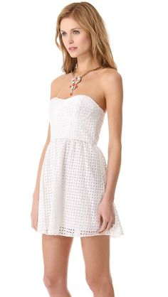 13bde996255 love this Parker dress that looks sweetly feminine and would be the perfect rehearsal  wedding dress