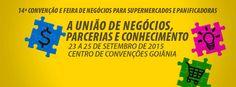 Vem aí SUPERAGOS 2015, de 23 a 25 de setembro no Centro de Convenções Goiânia.