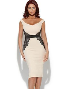 Lace Pink Pencil Dress for PYWC??