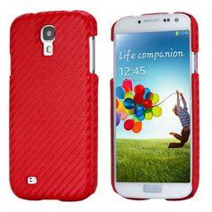 Funda Galaxy S4 - Carbon Roja