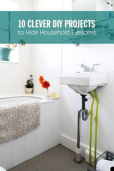 10 Clever DIY Projects to Hide Household Eyesores A nice idea to hide ugly outlets and intercoms Apartment Hacks, Apartment Therapy, Diy Cleaning Products, Cleaning Tips, Home Organization, Organizing, Home Hacks, Clever Diy, Home Projects