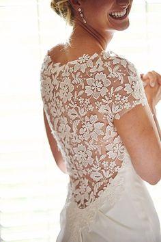 Highlands North Carolina Wedding with White Details