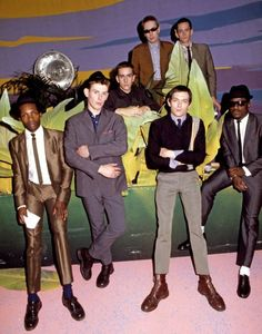 simplysuave: The Specials forever A great example of the contrast of fashion involved in the ska scene. although many of their fans wore typical skinhead fashions such as work boots, denim, and braces (or narrow suspenders), The Specials themselves, and many other ska bands, chose to dress more fashionably debonaire.