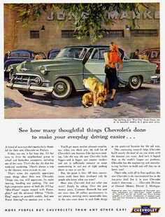 1953 Chevrolet Ad, Two-Ten Sport Coupe