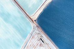 Blauwe vlaktes in Australië