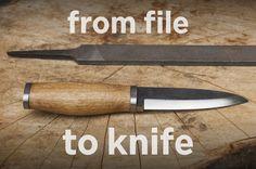 Photo de partir du fichier pour Couteau (avec des outils simples)