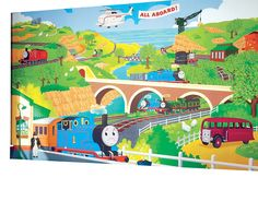 Features:  -Ultimate room décor for any Thomas enthusiast and it will become the…