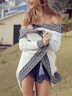 White+Long+Sleeve+Tribal+Pattern+Coat+Sweater+67.98