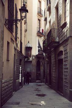 El Born, Barcelona, photo