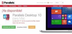 Parallels ha anunciado que Parallels Desktop 10 para Mac ofrece soporte experimental para Windows 10 y Office, que incluye Word, Excel y PowerPoint.