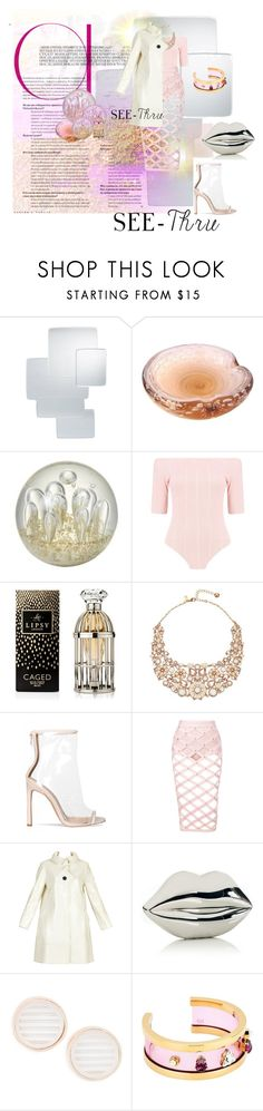 """Reflections"" by kitty-kimber ❤ liked on Polyvore featuring Arteriors, Murano, Boohoo, Lipsy, Kate Spade, Pierre Cardin, Lulu Guinness, Topshop, Maria Francesca Pepe and clear"