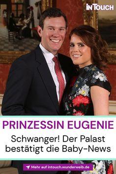 Jetzt ist es offiziell! Prinzessin Eugenie ist schwanger und erwartet ihr erstes Kind! #prinzessineugenie #schwanger #jackbrooksbank #britischeroyals #royals #royalnews #promis #stars #vipnews #prominews #intouch Royal News, Prinz Andrew, Vip News, Baby News, Prinz William, Royals, Princess Eugenie, Daughter, Coming Soon Baby