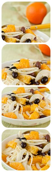 Delicious Sicilian Salad with Fennel and Oranges! | Healthy Food Mind