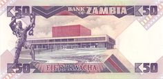 Wertseite: Geldschein-Afrika-Sambia-Kwacha-50-1986
