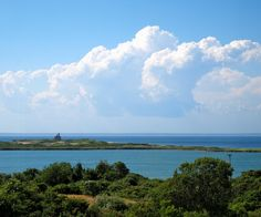 North Light and Sachem Pond.  Block Island.  Photo by Caitlin Hickey