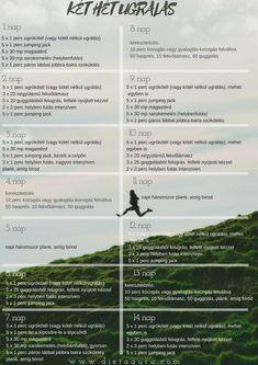 ugráld le magadról a felesleget! - 2 hetes edzésterv - diétaguru Bali, Workouts, Work Outs, Excercise, Workout Exercises, Fitness Exercises, Exercises, Exercise Workouts