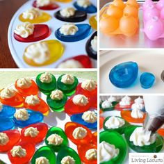Mar 2020 - Jello Easter Eggs are a fun and easy jiggler treat for kids! Try these fun edible crafts this year for your Easter holiday or brunch. Easter Snacks, Easter Appetizers, Easter Treats, Easter Recipes, Appetizer Recipes, Easter Desserts, Easter Food, Easter Decor, Easter Dinner