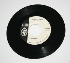 Orlons 45 rpm - South Street / Them Terrible Boots - White Label Promo