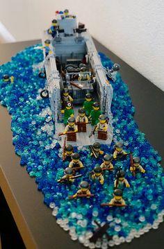 Lego Soldiers, Lego Ww2, Lego Army, Legos, Lego Creative, Lego Spaceship, Lego Store, Lego Construction, Lego For Kids