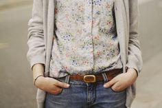 florals & gray <3