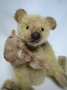 This is Gabby, made to look like an old antique style teddy bear,found in an old farmhouse made for a child many years ago. She would look great in the arms of a larger bear,doll,or as a sweet accent piece for your primitive or antique collection. Bear Doll, Accent Pieces, Biscuit, Vintage Antiques, Bears, Vintage Fashion, Teddy Bear, Dolls