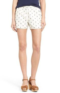 Free shipping and returns on Madewell Embroidered Pull-On Shorts at Nordstrom.com. Perfect for effortless, warm-weather wear, these breezy cotton shorts are styled with a cool embroidered pattern and laid-back slash pockets.