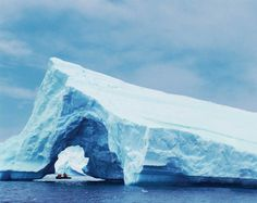 Iceberg arch- Antarctic - Lindblad Expeditions-National Geographic