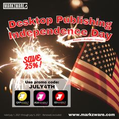 DTP Independence Day! with 4th of July 25% Savings! All Preview and Conversion tools on sale till 5 July 2021: --- PDF to #InDesign InDesign to #AffinityPublisher #QuarkXPress to InDesign #INDD to #IDML and more! July 25, 4th Of July, Independence Day Special, Desktop Publishing, Holding Company, Pdf, Coding, Tools, Instruments
