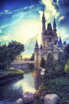 I really want to go to Disney World! I've never been there. Sad, isn't it? I've always been told to wait until my youngest sibling is old enough to actually have fun there like the rest of us, but then we get another child added to the family. True story, but now my parents think that we're, my siblings and I, are to old to go! Like, nobody is to old to go to Disney World to have fun!