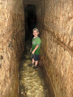 TOP-TEN ARCHAEOLOGY DISCOVERIES CONFIRMING THE BIBLE   Lesson 8: Hezekiah's Tunnel   In the Bible there is reference to an ancient hidden tunnel.  Does it really exist?  Read on to find out more...   To read more go http://lessonsforus.com/2013/06/hezekiahs-tunnel/
