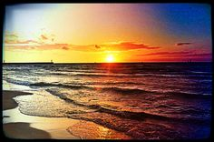 Sunset Łeba Poland Baltic Sea, Amazing Pictures, Homeland, Origins, All Over The World, Amber, Scenery, Places To Visit, Memories