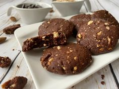 Biscotti, Baked Goods, Cupcakes, Healthy Recipes, Cheesecake, Cookies, Chocolate, Baking, Sweet