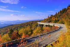 500px / Photo Linn Cove Viaduct - Asheville Fall Timelapse by Jared Kay