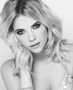 Ashley Benson Love this in Black and White!