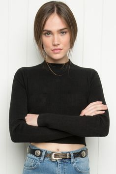 Brandy ♥ Melville | Brett Turtleneck Top - Clothing