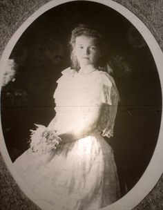 "grandduchesstatiana: "" Grand Duchess Olga Nikolaevna in 1906 """
