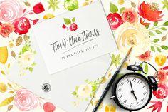Five O'Clock Flowers @creativework247