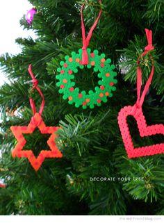 decoration ideas using Hama / Perler beads