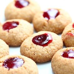 Biscuits garnis à la framboise | Metro
