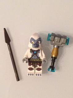 Lego GRIZZAM Minifigure Legends of Chima 70110